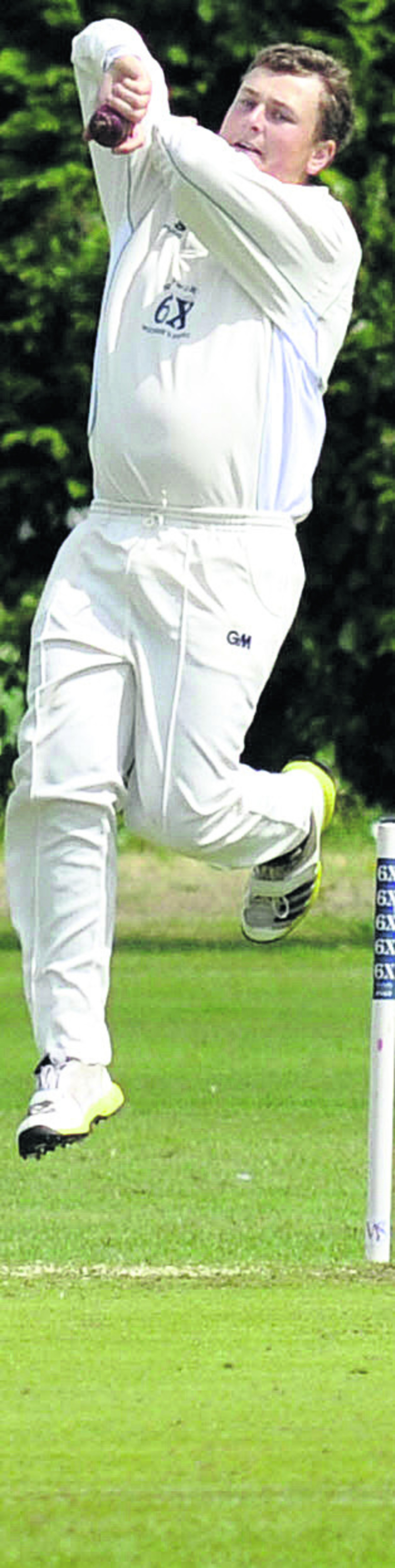 Joe King took six wickets for Wiltshire against Berkshire