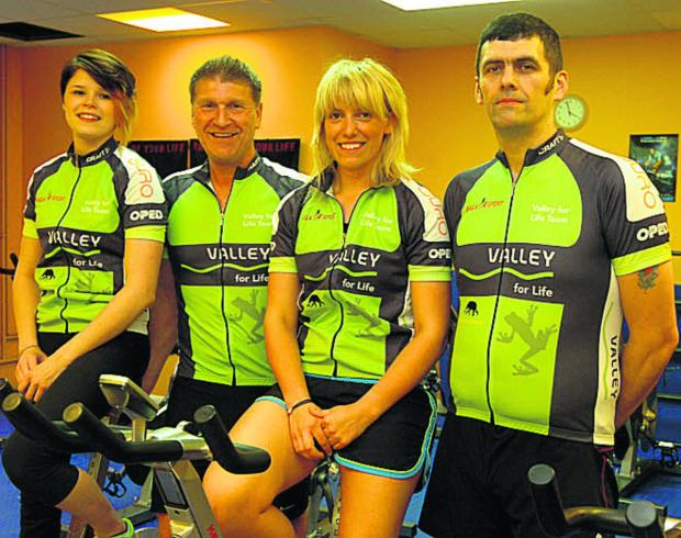 Wiltshire Times: Chauntine Lyons, Andy Trusler, Vicky Baldy and Paul Buckingham are doing The Ben Nevis Challenge in aid of Bag4Sport