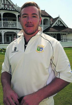 Trowbridge's Wes Marshall scored another century