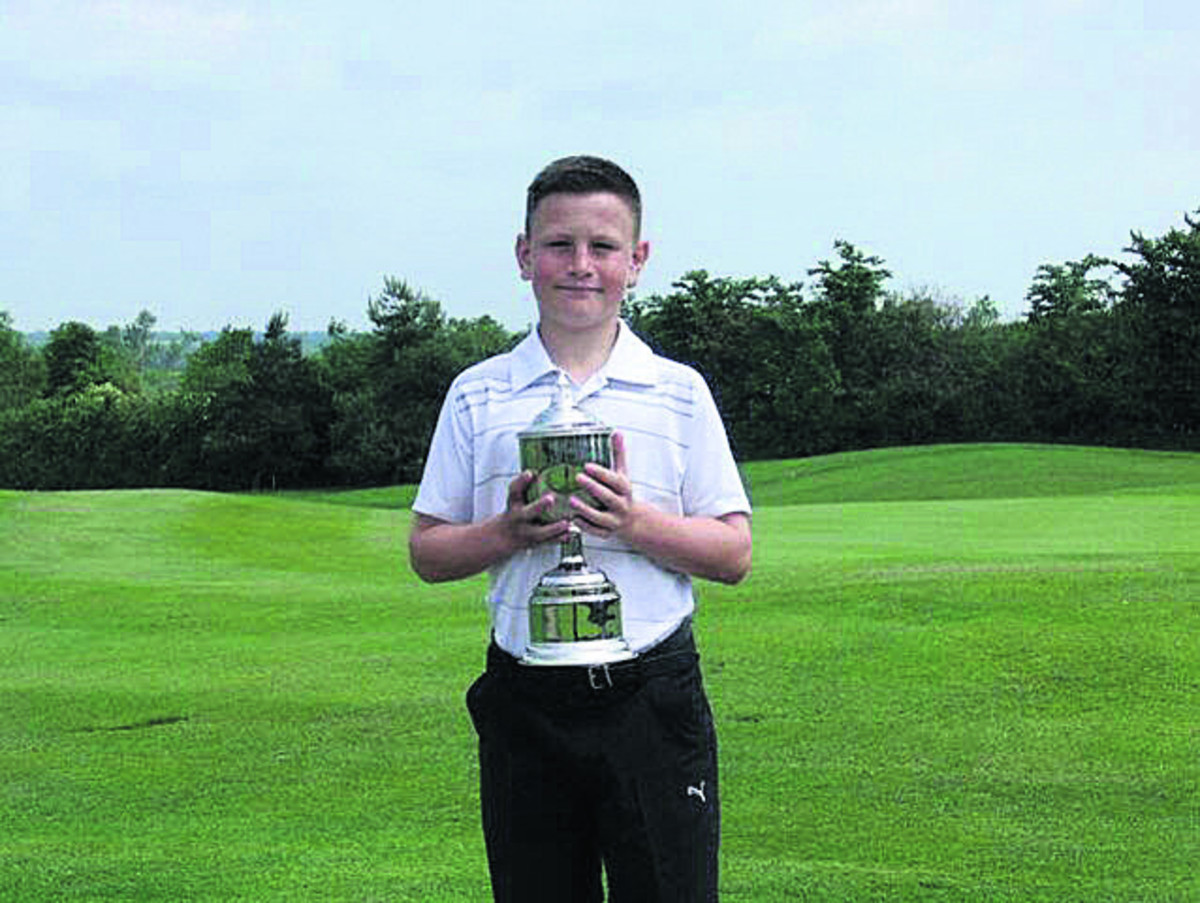 Cumberwell's Dom Walter was victorious at the US Kids Golf European Championship in Scotland