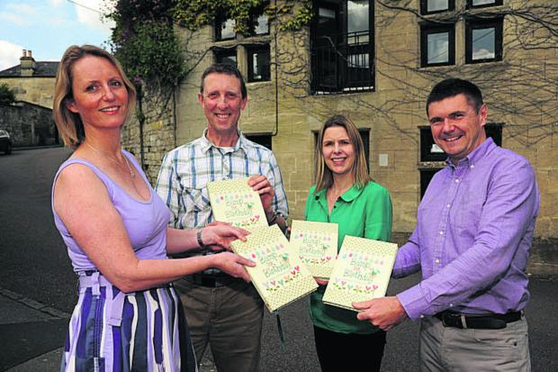Wiltshire Times: Helen Stephens, Adrian West, Kerri Littlefield and Neil Coxon of From You To Me