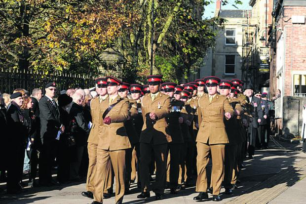 Freedom of Trowbridge to be awarded to Royal Regiment of Artillery