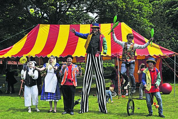 Wiltshire Times: The Salisbury Community Circus