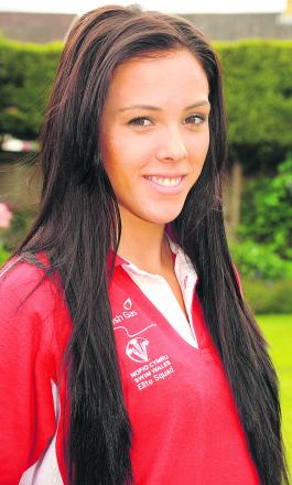 Melksham swimmer Rachel Williams has been selected by Wales for the Commonwealth Games