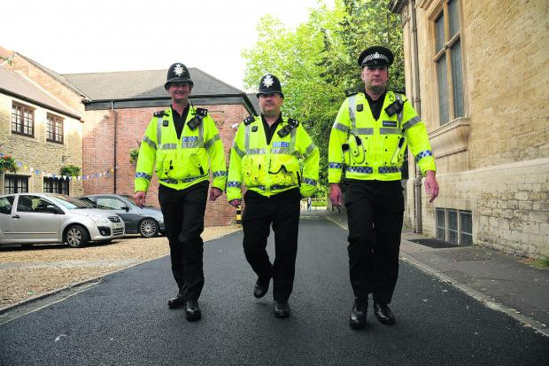 Police are increasing their presence ahead of tonight's England match