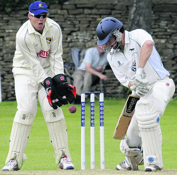 Wiltshire Times: Ed Young scored 46 in Wiltshire's defeat
