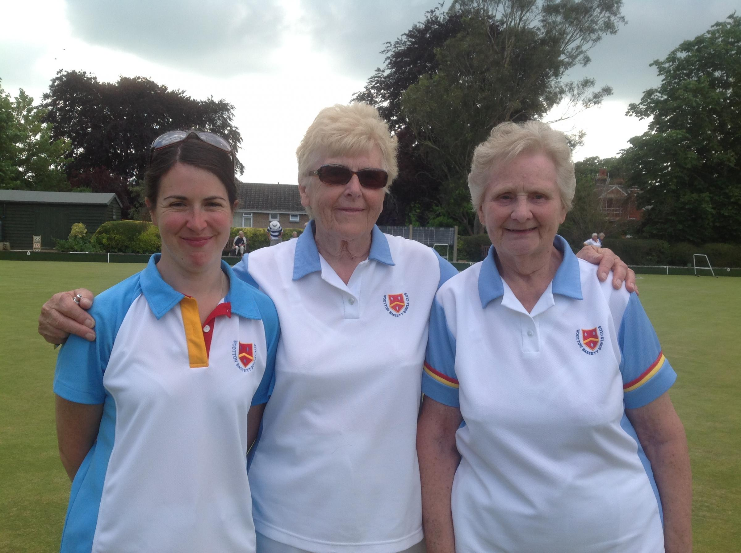 BOWLS: Spencer and Bassett ladies earn national places