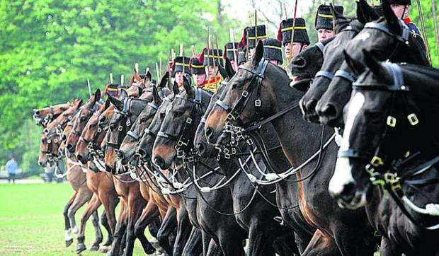 The Horse Artillery will be part of the parade