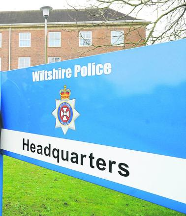 A Wiltshire Police staff member quit over an inappropriate Facebook posting