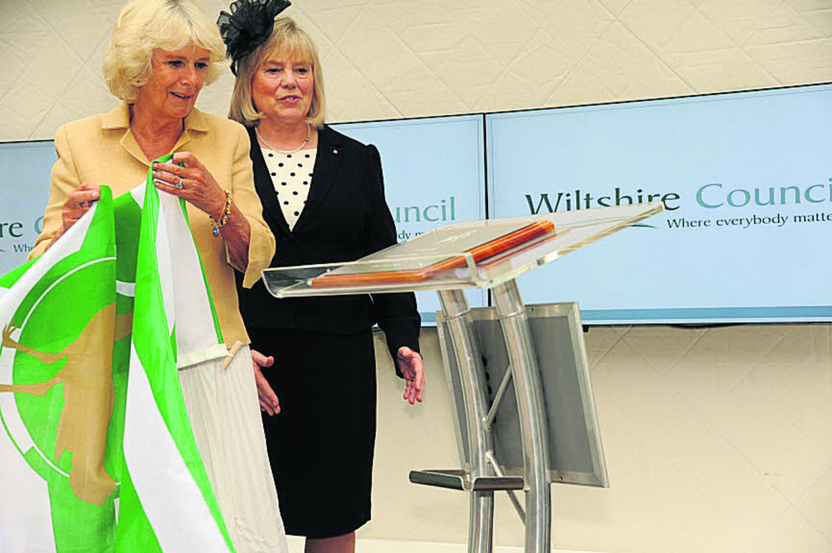 Duchess of Cornwall opens 'wonderful' County Hall