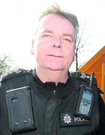 Sergeant Phil Connor, of Chippenham neighbourhood policing team