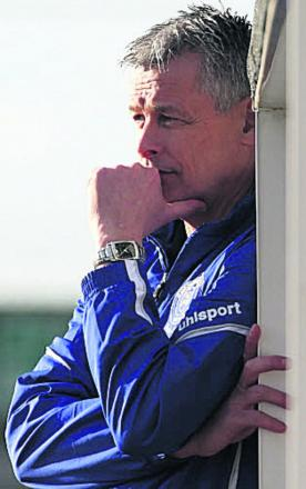 Chippenham Town boss Mark Collier