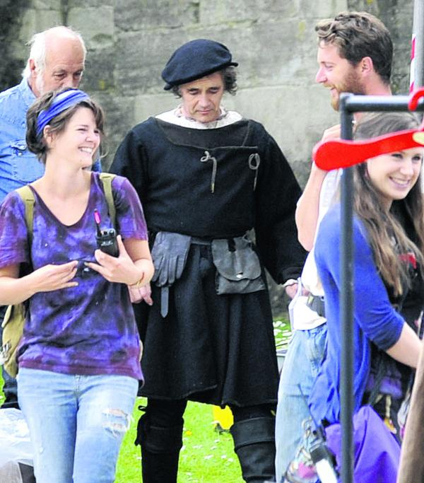Bradford on Avon is centre stage for filming of BBC's Wolf Hall