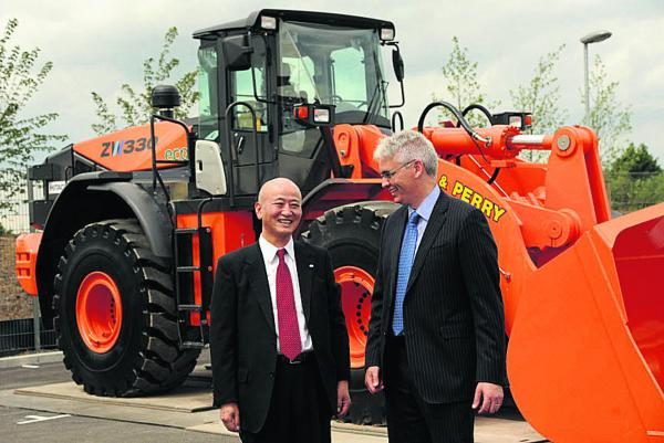 Hitachi's £7m Trowbridge office campus officially opened by company chief