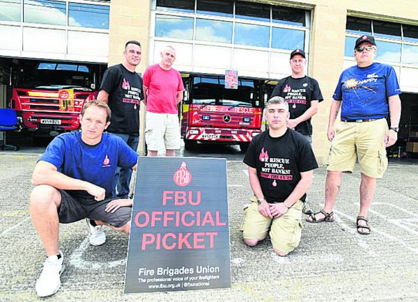 Firefighters to join strike by local government workers, teachers and civil servants