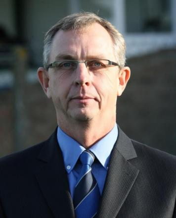Chippenham Town chairman Neil Blackmore