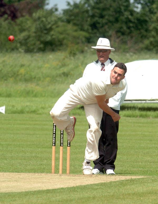 Malmesbury's Jack Ward took three wickets