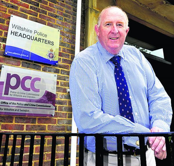 Police and Crime Commissioner Angus Macpherson is returning to work after a cardiac arrest. Picture by Siobhan Boyle