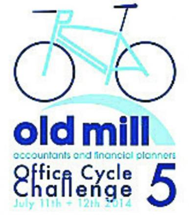 A team of Melksham accountants are cycling around the south west for charity