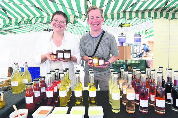 Local producers do roaring trade at Chippenham's first food and drink festival