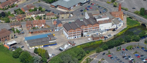 The former Unigate Dairy in Melksham has been put on the market for £2.75 million