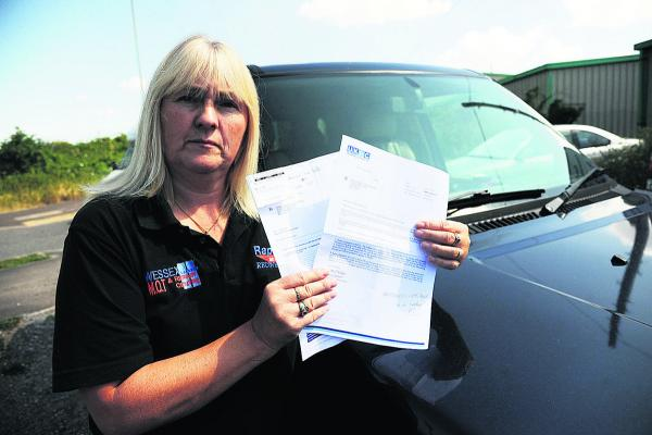 Motorists driven mad by Trowbridge parking fines