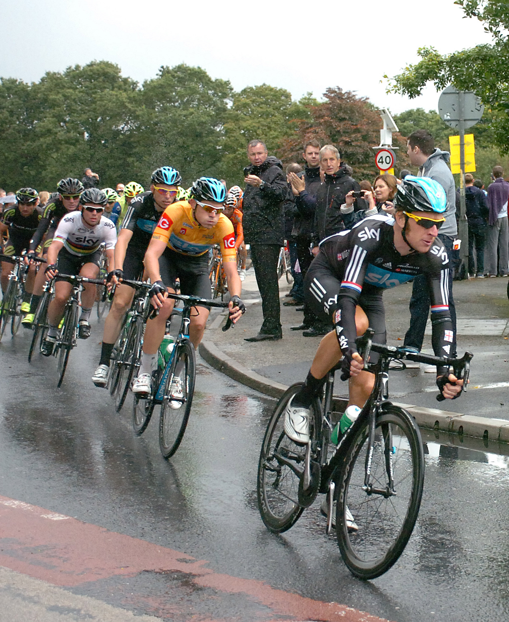 Sir Bradley Wiggins in a previous Tour of Britain