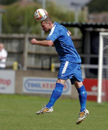 Defender Jon Beeden scored his first Chippenham Town goal as the Bluebirds drew 1-1 with Paulton Rovers this aftternoon
