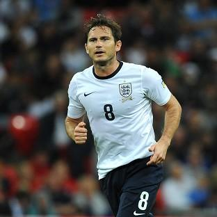 Former Chelsesa man Frank Lampard earned 106 caps for England