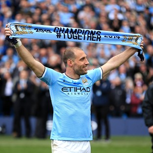 Pablo Zabaleta is looking forward to competing for Manchester City in the Champions League