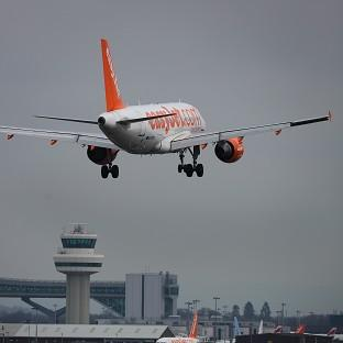 An easyJet plane had to make an emergency landing after smoke was detected in the cockpit