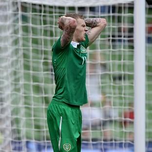 Republic of Ireland's James McClean will not play on Sunday