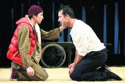 Andrei Costin & Ben Turner as Hassan and Amir in The Kite Runner.  Photo: Robert Day