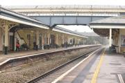 Chippenham Railway Station will become more accessible with a new footbridge and lift. Picture by Diane Vose