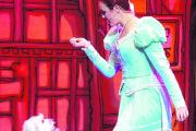 Ashleigh and Pudsey capture the audience's hearts on stage at the Hippodrome