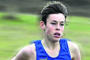 CROSS COUNTRY: Rob rules the county