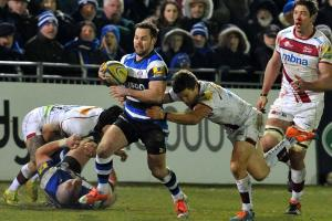 RUGBY: Young returns at scrum-half for Bath