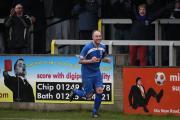 Charlie Griffin netted twice as Chippenham Town won 3-0 at Chesham United