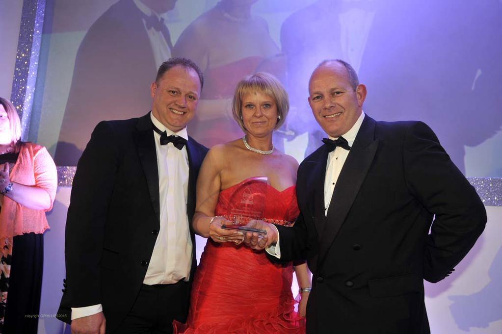 Apprenticeship Employer of the Year winner John Williams Heating Services (Pic by Glenn Phillips)