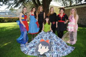 Warminster students take to the catwalk to show off their stylish designs