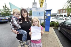 Westbury mum fighting back against incorrect parking ticket at St Stephen's Place in Trowbridge