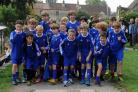 Bradford Town Youth FC players