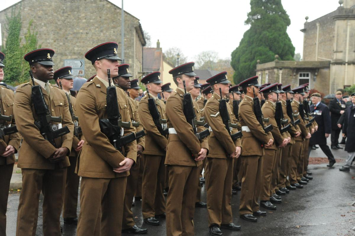video warminster turns out for annual remembrance day service