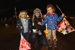 Christmas arrives in Warminster with an array of festive Lanterns