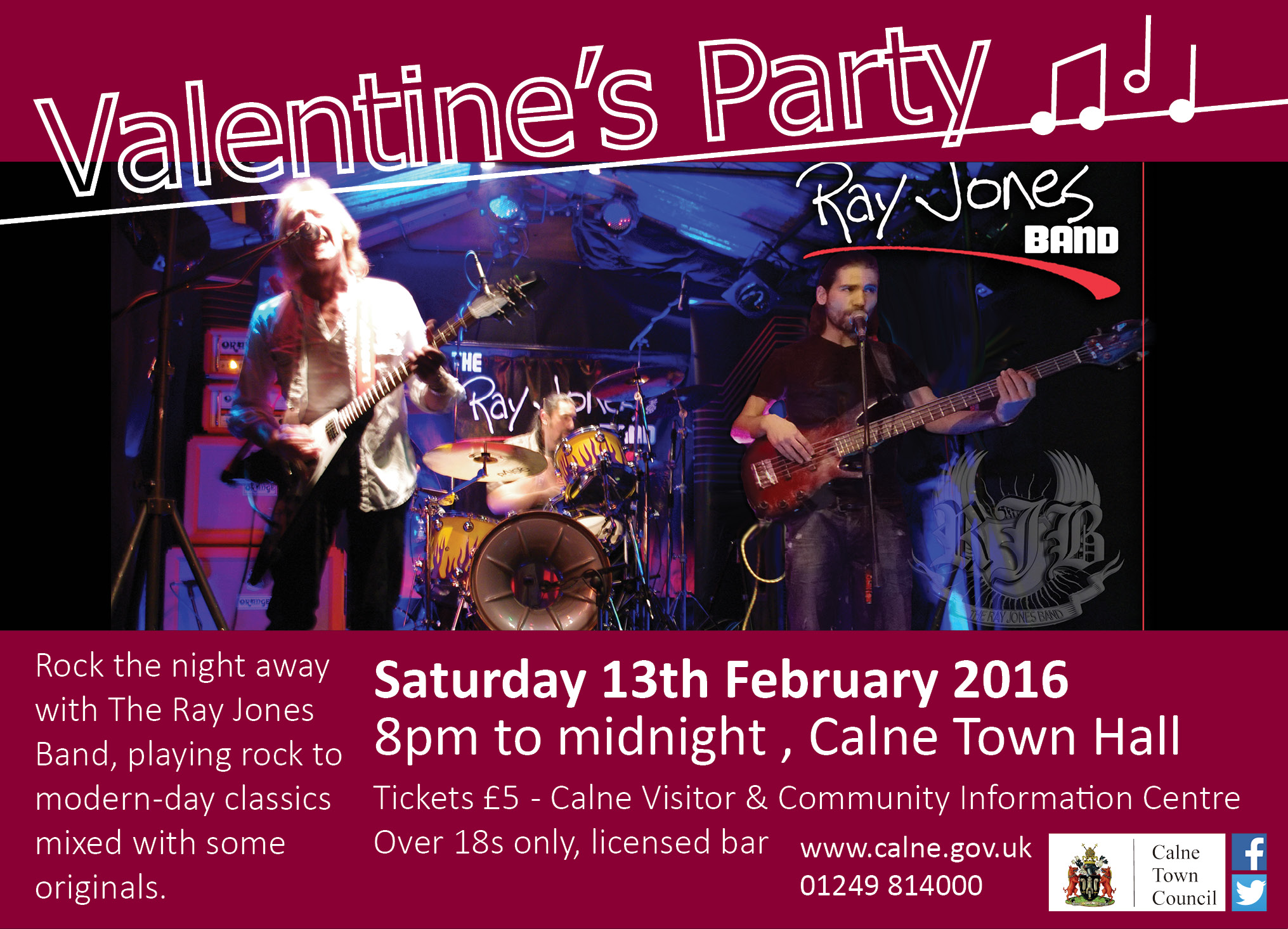 Valentine's Party with The Ray Jones Band