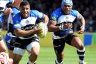 Kyle Eastmond (left)