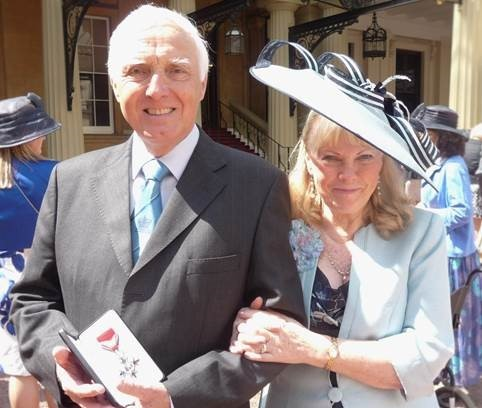 John Laverick MBE and his wife Valerie