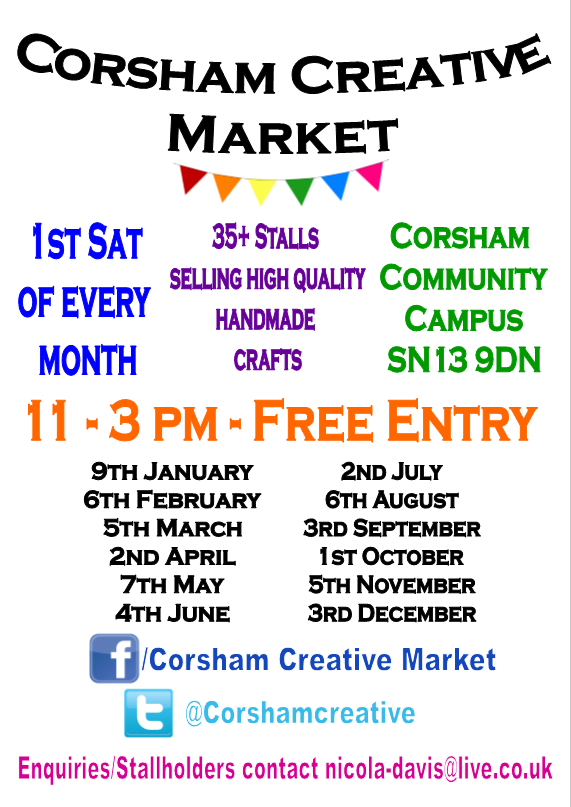 Corsham Creative Market (In collaboration with Pound Arts)