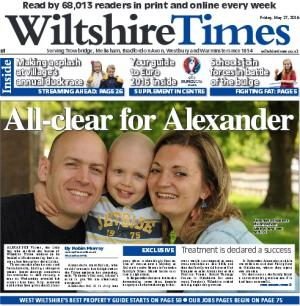 Wiltshire Times: Don't miss this week's new-look Wiltshire Times complete with free Euro 2016 guide