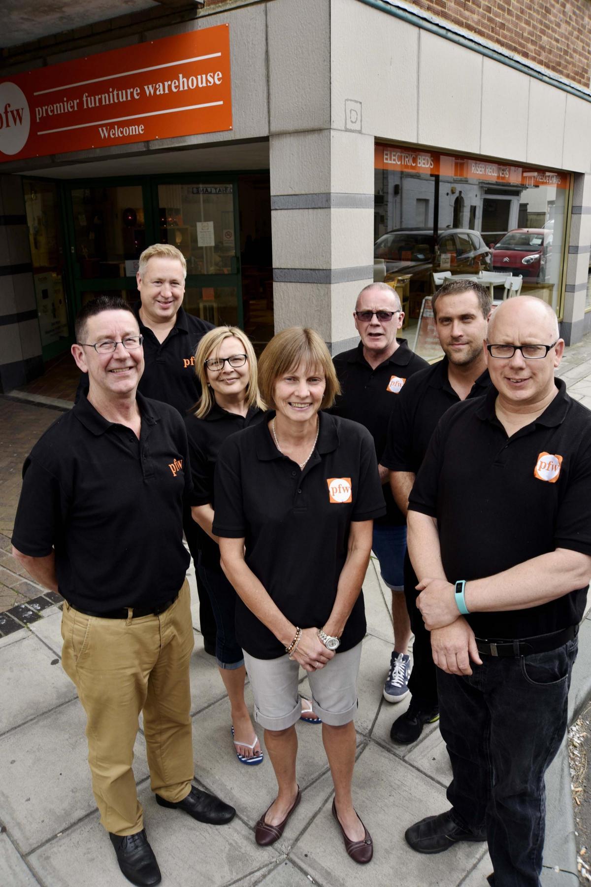 Business in Focus Premier Furniture Warehouse Trowbridge From